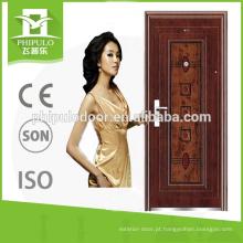 porta de aço original da mamã e do filho do projeto com preço razoável