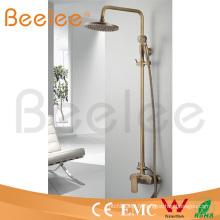 Ensemble de douche de pluie en laiton de salle de bains chaude