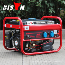 BISON CHINA générateur domestique 2kw, générateur d'énergie uni 5.5hp, générateur d'essence électrique avec moteur GX160