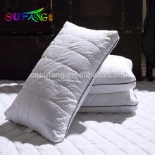 Uso doméstico travesseiro / China fornecedor de compras online barato poliéster fibra travesseiro uso do hotel travesseiro
