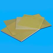 Светло-зеленая и желтая изоляция эпоксидной фенольные FR4 лист