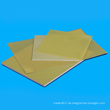 Epoxy-FR4-Folie für hellgrüne und gelbe Isolierung