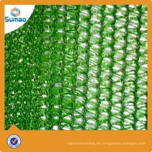 Nuevo diseño de alta densidad de tela de polietileno sol sombra precio neto con precio bajo
