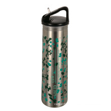 High Quality Stainless Steel Single Wall Outdoor Sports Water Bottle