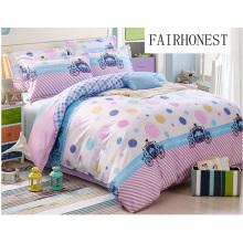 Venta caliente 100% algodón juego de cama / Comfoter Set F1724