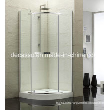 Sector Slidingtempered Glass Aluminium Alloy Shower Enclosure (DV-S)