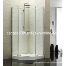 Slidingtempered сектора корпуса стекло алюминиевый сплав душ (ДВ-Е)