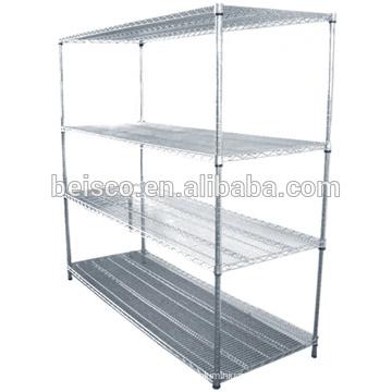 Hot sales Stainless steel grating shelves,wire frame shelf