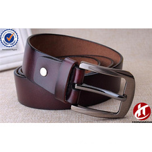 Men's Classic Custom Fashion Top Layer Grain Leather Belt