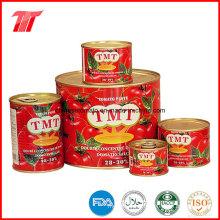 Vente en gros de pâte de tomate en conserve de haute qualité