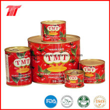 Pasta de tomate enlatada de alta qualidade por atacado