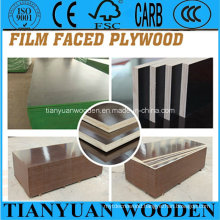 Black/Brown Film Faced Waterproof Plywood