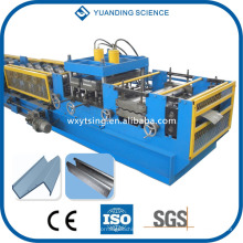YTSING-YD-000114 Passed CE & ISO Vollautomatische SPS-Steuerung C / Z / U / L Purlin Roll Umformmaschine