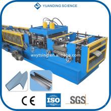 YTSING-YD-000114 Passado CE & sistema de controle automático completo do PLC do ISO C / Z / U / L rolo de Purlin que dá forma à máquina