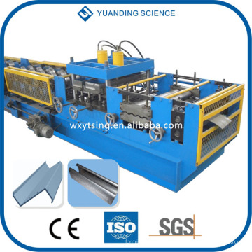 YTSING-YD-000114 Pasado CE y sistema de control automático completo del PLC del ISO C / Z / U / L Rodillo de Purlin que forma la máquina