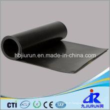 Feuille en caoutchouc de noir de Viton de FKM d'épaisseur de 4mm pour l'industrie