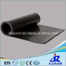 Folha de borracha do preto FKM Viton da espessura de 4mm para a indústria