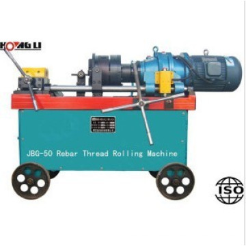 12-50mm rebar thread rolling machine / screw thread rolling machine HL-50