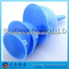 Molde de inyección de embudo de plástico