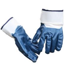 NMSAFETY ладони en388:2016 сверхмощный нитрила покрытием перчатки работы зимы