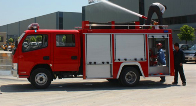 Water Fire Truck 4
