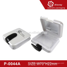 White Square Wholesale Compact Cosmetic Case