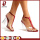 Sexy PVC transparent  ladies elegant sandals