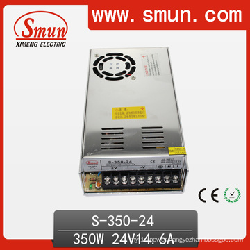 350W 24V 14.5A Enclosed Switching Power Supply with Ce RoHS