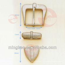 Boucle de ceinture nickelée (L20-121A)