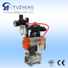 Double Acting Rotary Pneumatic Actuator