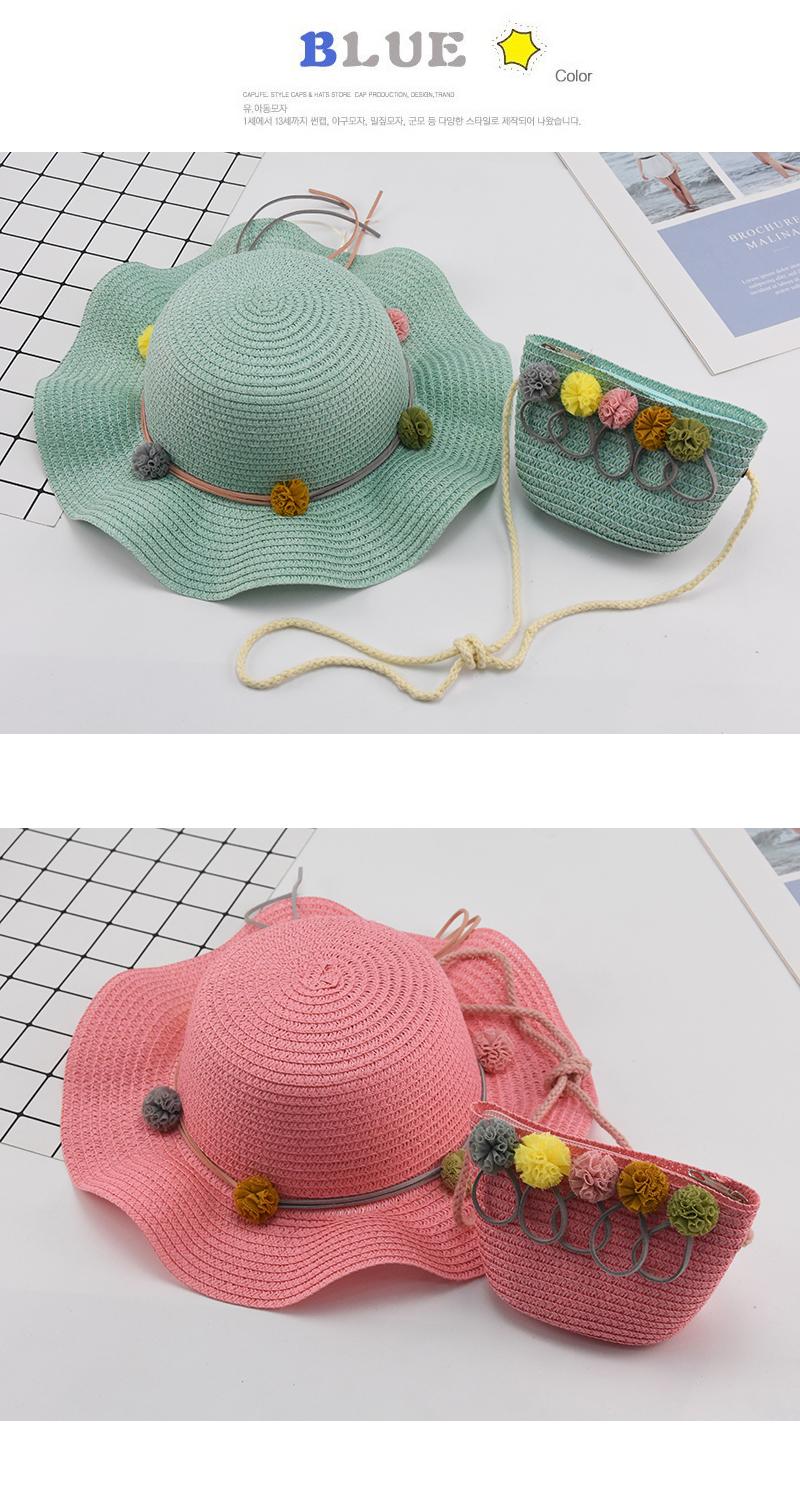 Children Summer Straw Hat Baby
