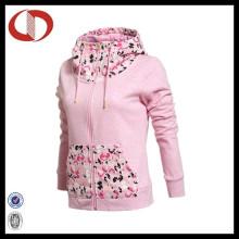 Heiße Verkaufs-späteste Frauen-Sport-Abnutzungs-Jacke mit preiswertem Preis