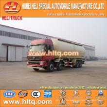 FOTON dry bulk cement tank truck 8x4 40M3 270hp shock price professional production hot sale