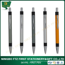 Student Stationery Items Aluminium Metal Custom Logo Pen