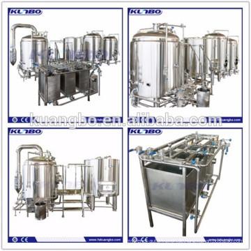 Bierbrauanlage Brauereiausrüstung mit nahtlosem Schweißen
