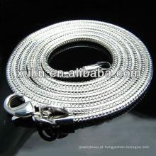 atacado alibaba 925 colar de murano de prata esterlina
