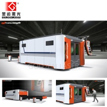Fiber Laser Metal Cutting Machine for Steel Sheet