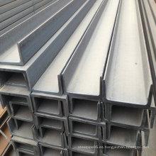 Material de construcción de viga de acero de canal de primera calidad