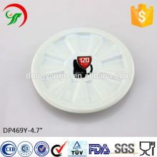 Factory direct wholesale round relief ceramic dish,Stylish new products
