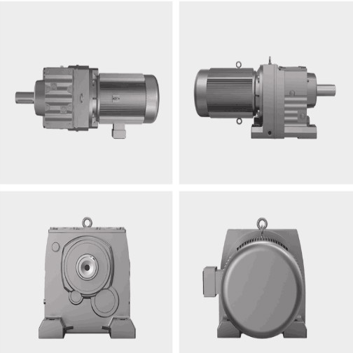 Housing Material Iron Casting Gear Reduction Boxes