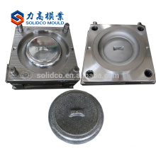 Plastic container mold for injection mould