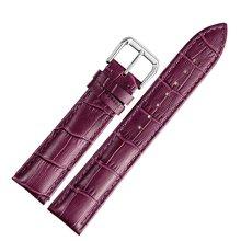 Genuine Calfskin Purple Leather Watch Straps