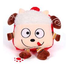 Plüsch-Cartoon-kleiner Schaf-Rucksack