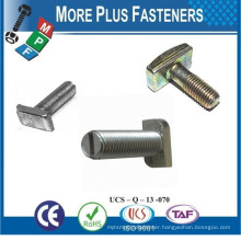 Made In Taiwan According to Customers Drawing Slotted Dove Tail T Bolt