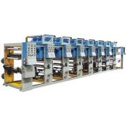 Mesin plastik warna percetakan