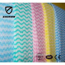 Tissu anti-poussière en tissu non tissé à 13 mesh spunlace