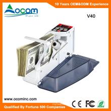 V40: Mini portátil Shop Cash Money Bill Billetera Cuentacuentos