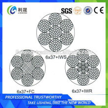 6x37 + FC 6x37 + IWS 6x37 + IWR Mooring Wire Rope