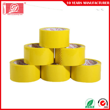 Strong Adhesive Waterproof Yellowish Bopp Packing Tape