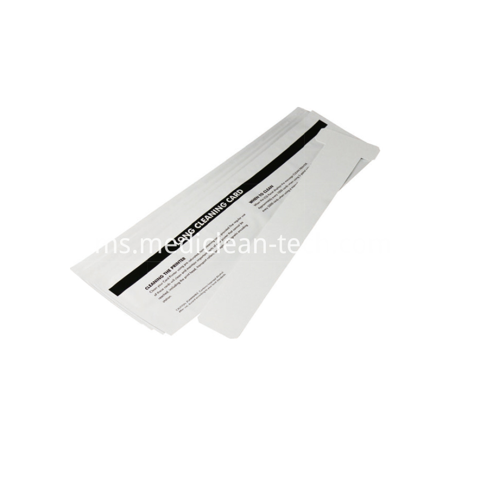 Zebra Long T Cleaning Cards 390mm